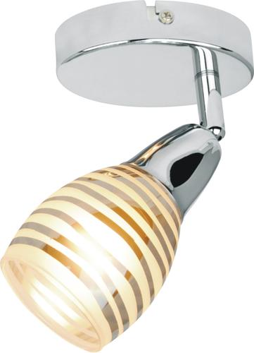 Jubilat Lampe Wandleuchte 1X10W E14 Led Chrome