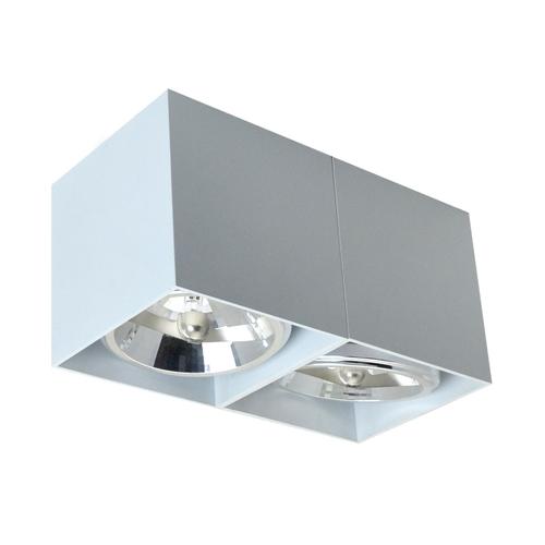 89949 G9 Box Sl 2 Spot Weiß / Weiß