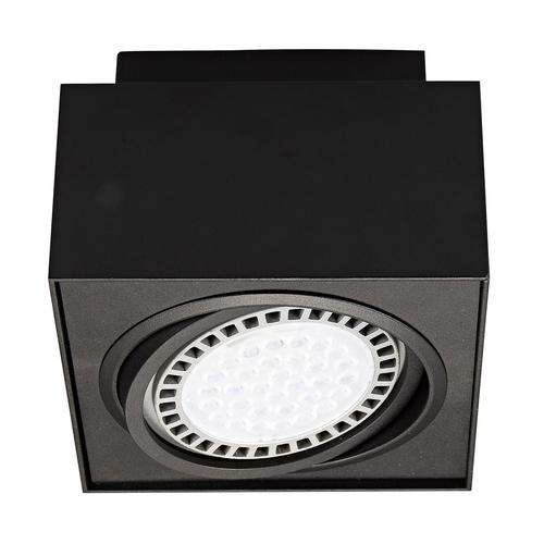 20074 Bk Boxy Cl 1 Spot Schwarz / Schwarz