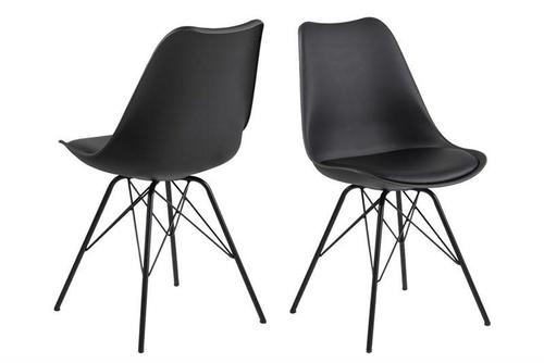 ACTONA ERIS schwarzer Stuhl