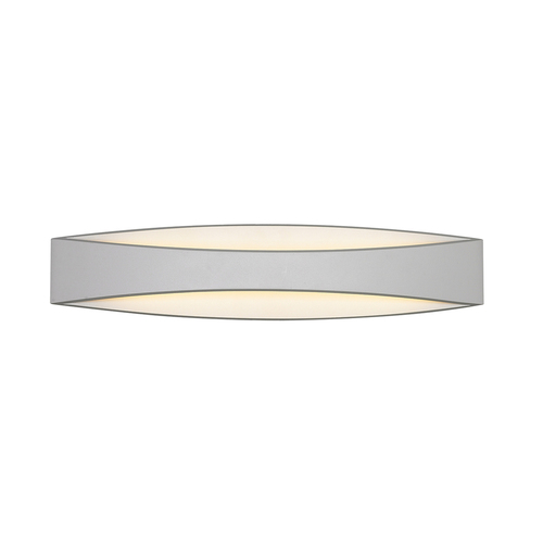 Moderne weiße Wandleuchte Kaia LED