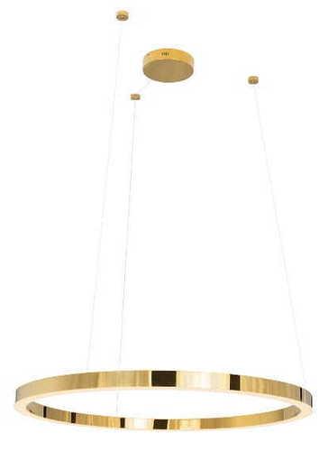 Luxus P0370 Pendelleuchte Gold, groß P0370D Max Light