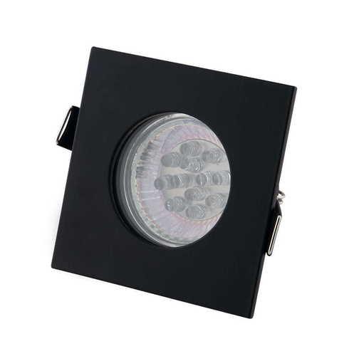 SQUARE H0093 BLACK HALOGEN LUMINAIRE IP44 Max Licht