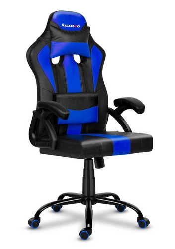 Ultra bequemer HZ-Force 3.0 BLUE Gaming Stuhl