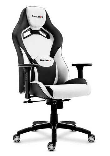 Ultra bequemer Gaming Stuhl HZ-Force 7.3 Weiß
