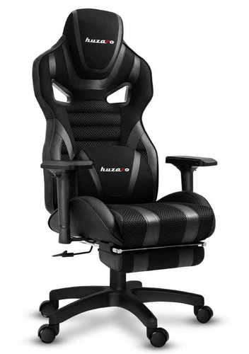 Extrem bequemer HZ-Force 7.5 Black Mesh Gaming Stuhl