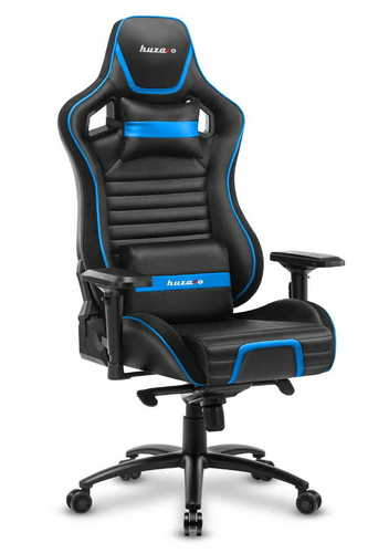 Sehr bequemer Gaming-Stuhl HZ-Force 8.2 Blue