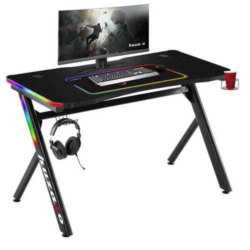 Hochmoderner Gaming-Schreibtisch HZ-Hero 4.5 RGB Lit.