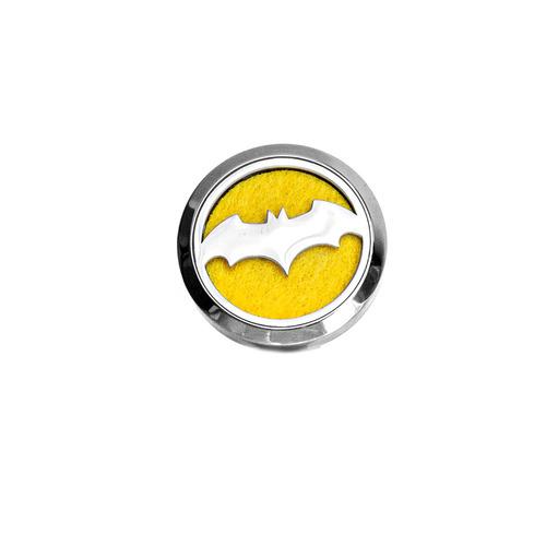Dekorativer Autolufterfrischer, Diffusor aus ätherischen Ölen - Batman, Edelstahl