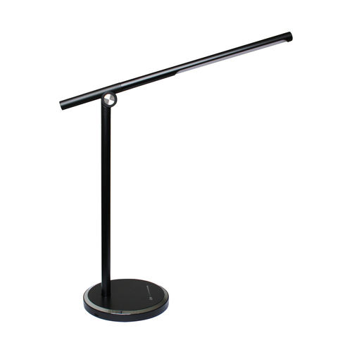 H1816 Eine Schreibtischlampe Schwarz / Schwarz