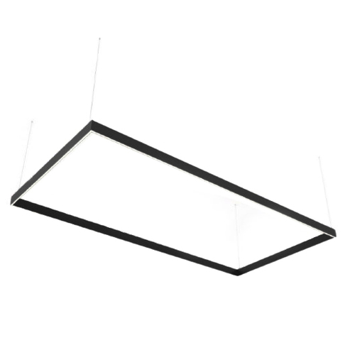 Lineare LED-Lampe Abigali Rectangle System doppeltes seitliches Rechteck 240x120