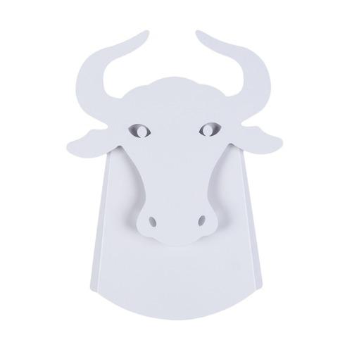Wandleuchte Taurus Abigali Bull Weiß
