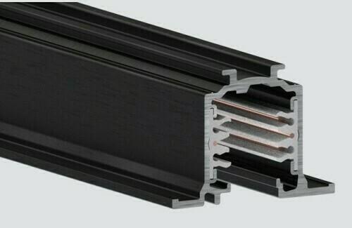 Einbauschiene 2m schwarz EINBAU ONETRACK Stucchi 9000-2 / BR
