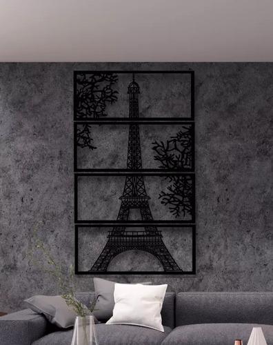 Wanddekoration Eiffelturm