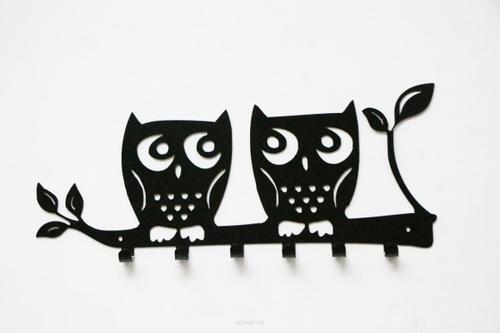 Wandgarderobe OWL schwarz