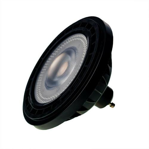 Glühbirne Ar111 10 W Gu10 4000 K / Schwarz