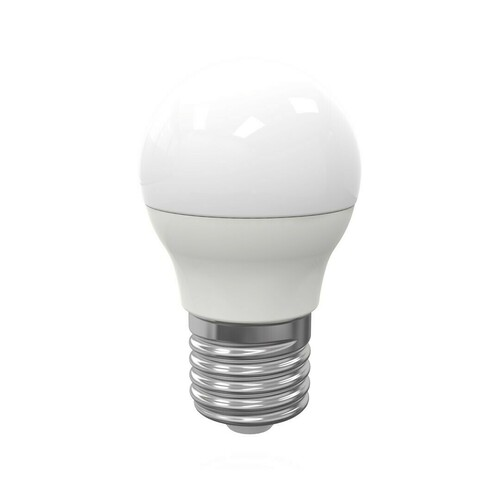 5W E27 G45 LED-Birne. Farbe: Neutral