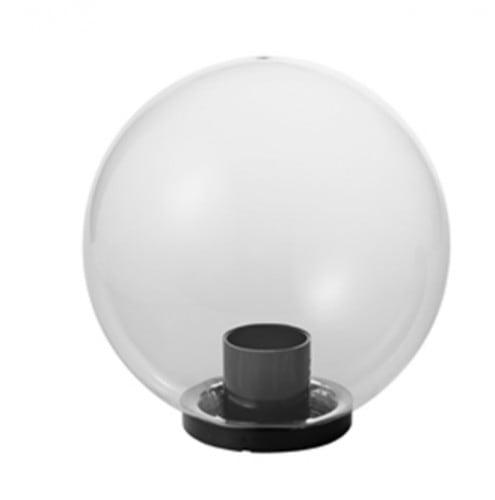 Gartenball Lampe Luna Ball 25 cm, modern, transparent