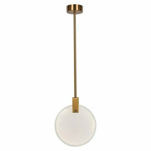 Pendelleuchte MARBLE LED Gold Marmor 24 cm