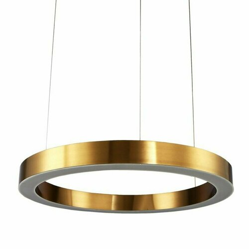 Pendelleuchte CIRCLE 60 LED Messing 60 cm