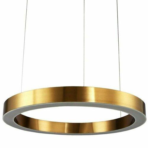 Hängelampe CIRCLE 80 LED Messing 80 cm