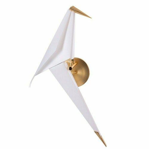 Wandleuchte BIRD LED gold 67 cm