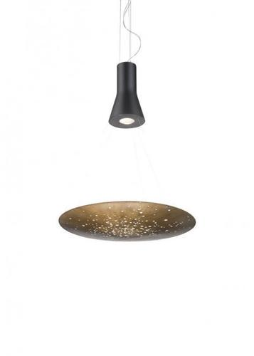 Hängelampe Fabbian LENS F46A0176 Bronze