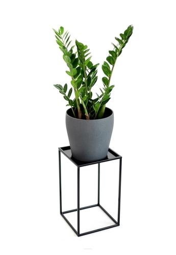 Blumenbeet LOFT Metallständer für einen Topf 40cm schwarz