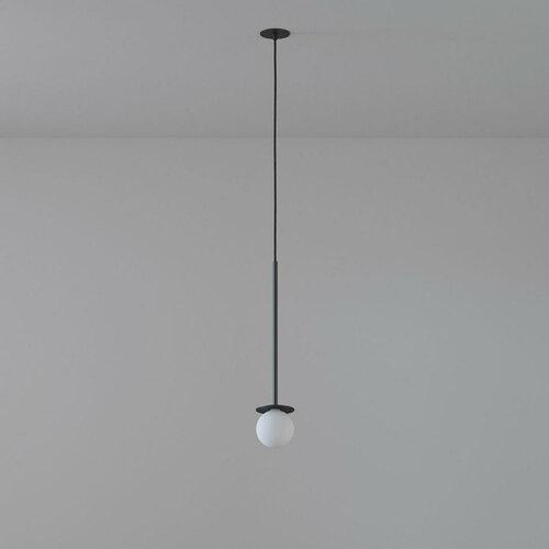 COTTON 450 fi100 hängender Einlass max. 1x1,9W, G9, 230V, Kabel schwarz, schwarz (matt) RAL 9017