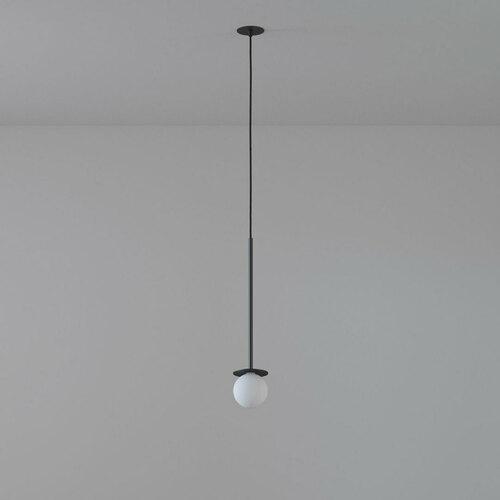 COTTON 450 fi100 hängender Einlass max. 1x1,9W, G9, 230V, Kabel schwarz, tiefschwarz (Mattstruktur) RAL 9005