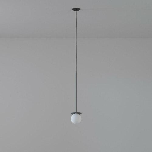 COTTON 450 fi100 hängender Einlass max. 1x1,9W, G9, 230V, Kabel schwarz, graphitgrau (matt) RAL 7024