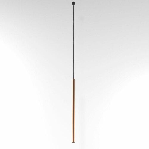 NER 350 hängend max. 1x2,5W, G9, 230V, schwarzes Kabel, kupferfarben (glattmatte)