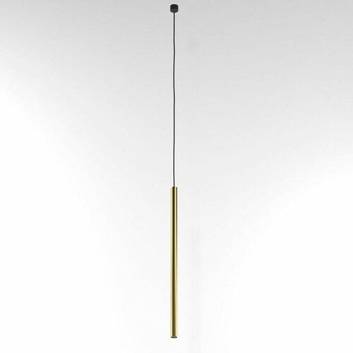 NER 500 hängend max. 1x2,5W, G9, 230V, schwarzes Kabel, goldfarben (glattmatte)
