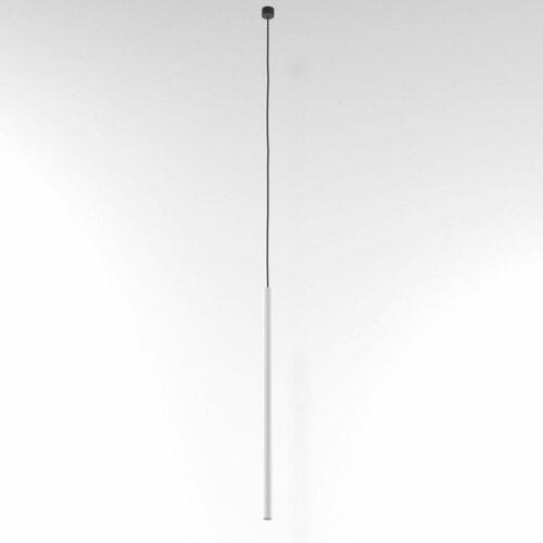 NER 550 hängend max. 1x2,5W, G9, 230V, Kabel schwarz, weiß (Mattenstruktur) RAL 9003