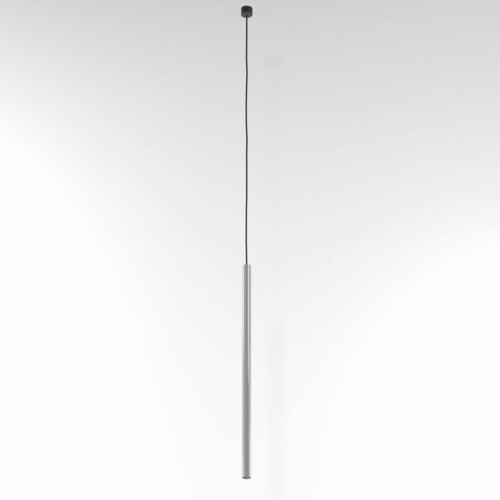 NER 550 hängend max. 1x2,5W, G9, 230V, Kabel schwarz, alusilber (glänzend) RAL 9006