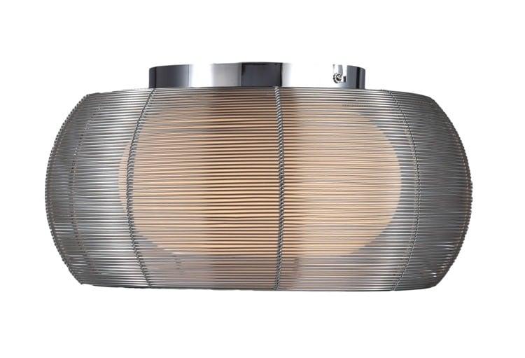 INNENLEUCHTE (DECKE) ZUMA LINE TANGO DECKE MX1104-2 (silber) - Silber