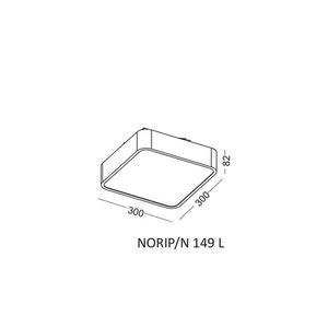Deckenleuchte, Plafond NORIP / N 149 L small 1