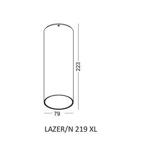 Deckenleuchte LAZER / N 219 XL small 1
