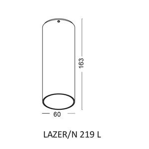 Deckenleuchte LAZER / N 219 L small 1