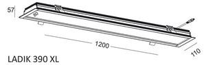 Lineare Einbauleuchte LADIK 390 XL small 1