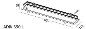 Lineare Einbauleuchte LADIK 390 L small 1