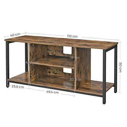 Loft TV-Tisch rustikal braun LTV39BX