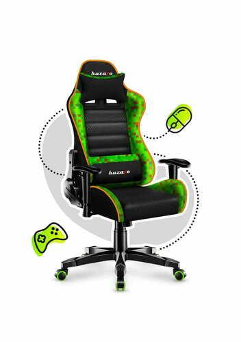 Ultra bequemer RANGER 6.0 Minepixel Gaming Stuhl für Kinder