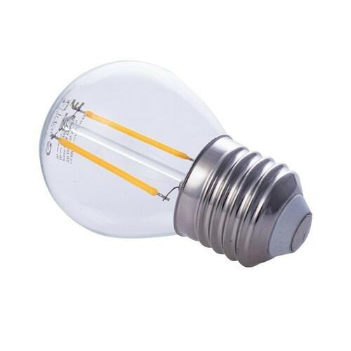 2 W E27 G45 2700K LED Glühbirne