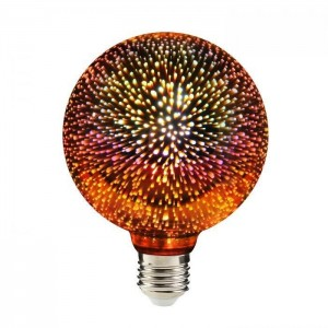 Dekorative Luna Fire Globe LED Feuerwerke 3D small 0