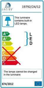 Stehleuchte CHAMPION-LED Satin Chrom small 2