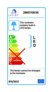 Außenwandleuchte GIO schwarze LED small 2