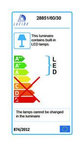 Außenwandleuchte GIO schwarze LED small 3