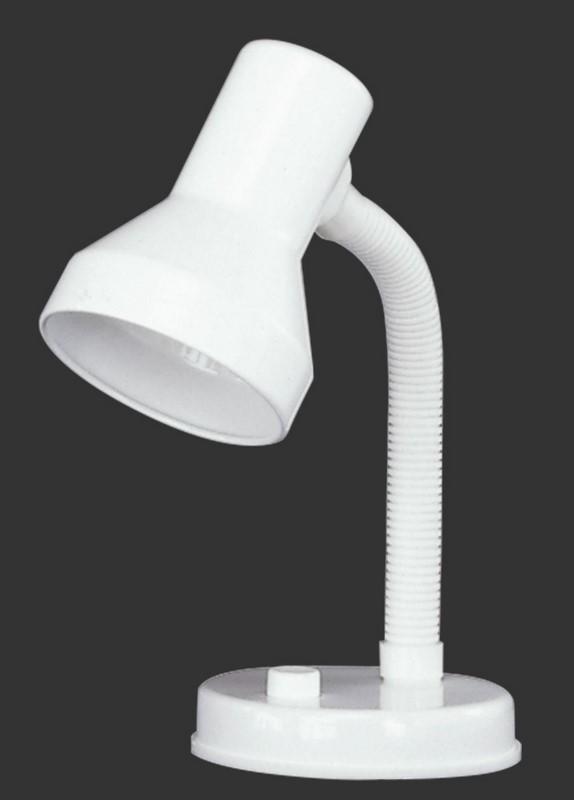 Klassische weiße Schreibtischlampe PRONTO