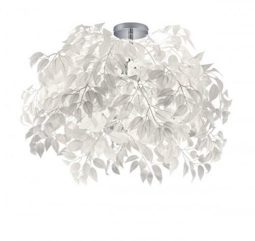 LEAVY CEILING LIGHT weiße Blätter